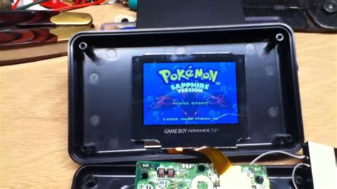 mod gameboy sp side project 1 gameboy advance sp modding part 1 youtube