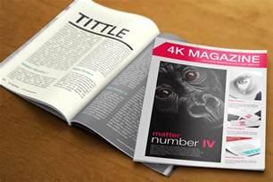 Magazine Ad Template by 20 Free Realistic Magazine Mockup Psd Templates Tinydesignr