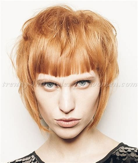 trendy haircuts bangs bob haircut layered bob haircut with bangs trendy