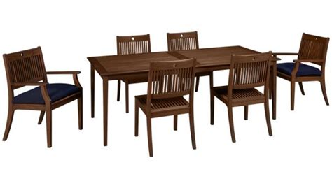 existing leisure outside dining set 6 chairs 2