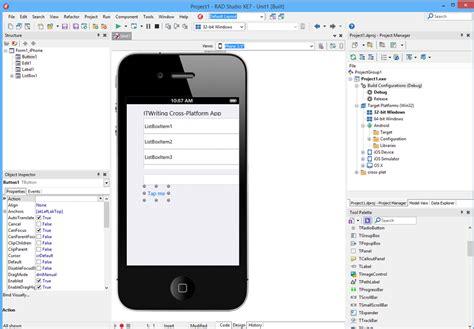 tutorial delphi xe7 android embarcadero rad studio xe7 delphi c builder is seven