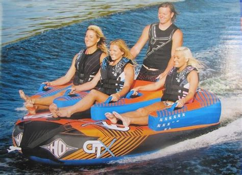 best inner tubes for boats towable water boat inflatable inner tube rope 4 person ebay