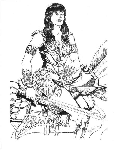 Xena Drawing