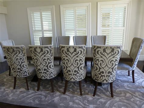 upholstered dining room sets dining set upholstered chairs home ideas