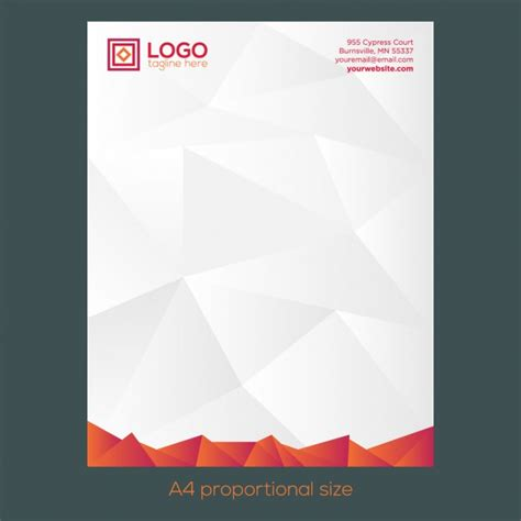 Business Letterhead Vector 30 Best Free Letterhead Design Mockup Vector And Psd Templates