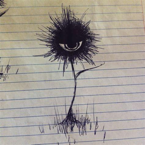 hana tattoo drew some of the cool flower from aku no hana