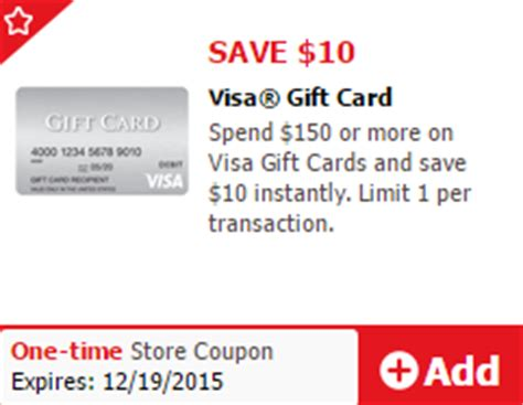 Where Can I Use A Vons Gift Card - 10 off visa gift cards at safeway 15 off mastercard