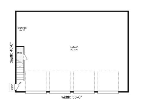 8 car garage plans 8 car garage plans 8 car garage plan features 4 tandem bays 062g 0051 at www