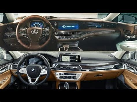 Bmw 7 Series 2020 Vs 2019 by 2020 Bmw 7 Series Vs 2019 Lexus Ls