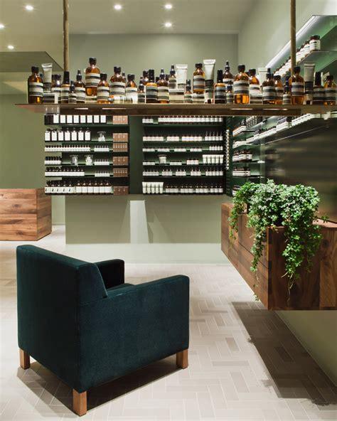 designboom office design philipp mainzer develops interiors for aesop s frankfurt store
