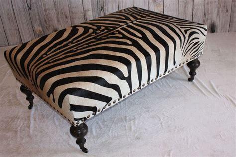 brown zebra print ottoman best 25 cowhide ottoman ideas on pinterest southwestern