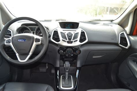 2014 ford ecosport interior 2014 ford ecosport review prices specs