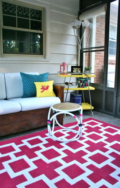 Painting An Outdoor Rug Painting An Indoor Outdoor Rug Homeright