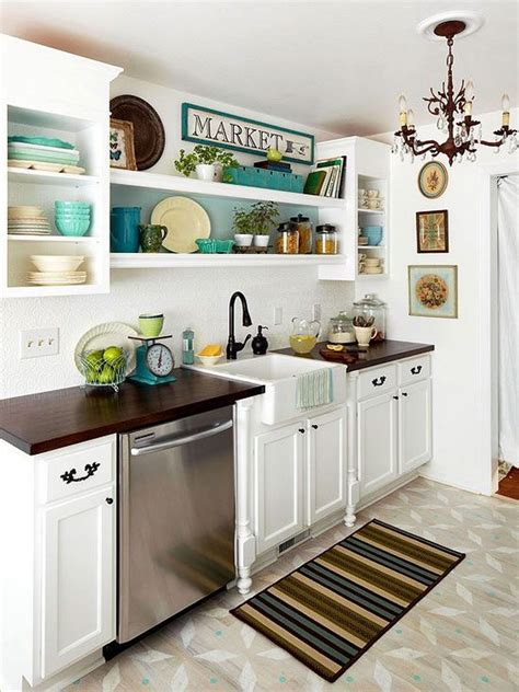 Kitchen Cabinet Ideas For Small Kitchens 50 Best Small Kitchen Ideas And Designs For 2018