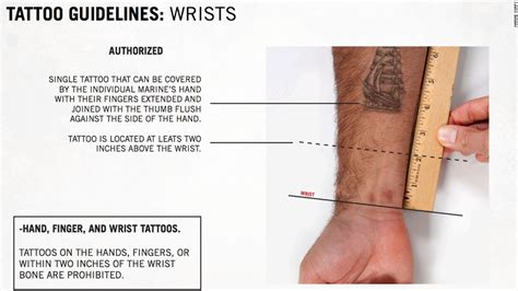 marine corp tattoo policy marines ink new cnnpolitics