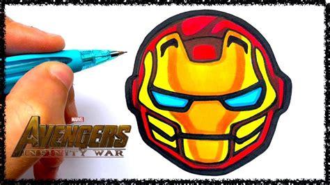 tuto emoji iron man infinity war youtube