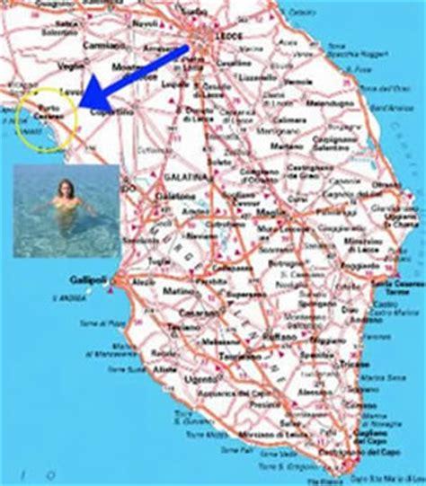 mappa porto cesareo bed and breakfast porto cesareo b b grekal salento lecce