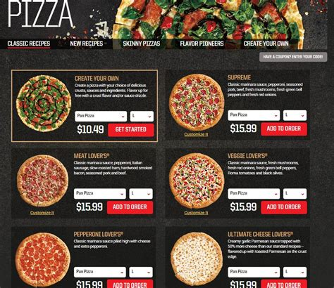 domino pizza flavors a tale of 2 pizza turnarounds pizza hut vs domino s