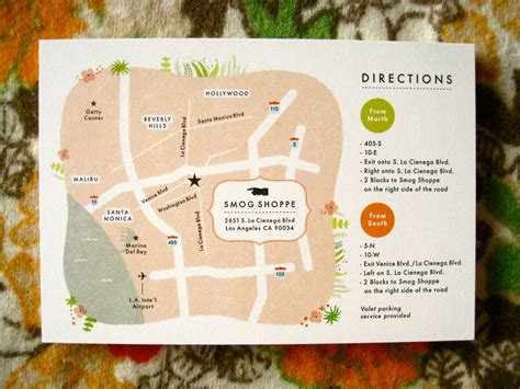 Wedding Invitation Map by Custom Map For Wedding Invite Stationary And Invitations