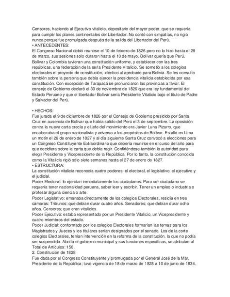 breve historia poltica del 8416020973 breve historia de la constituci 243 n pol 237 tica del per 250