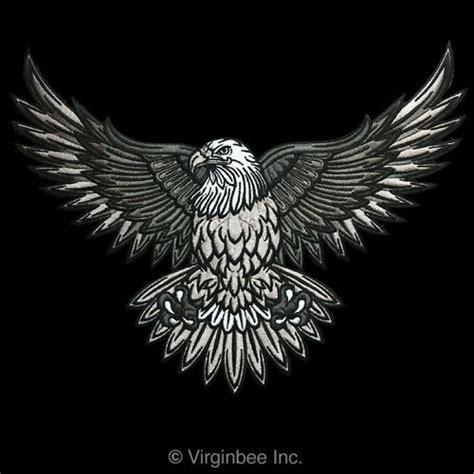 Jaket Bloods Abu american bald eagle usa symbol biker jacket