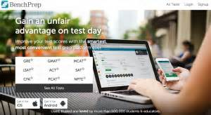 bench prep benchprep online test prep site review