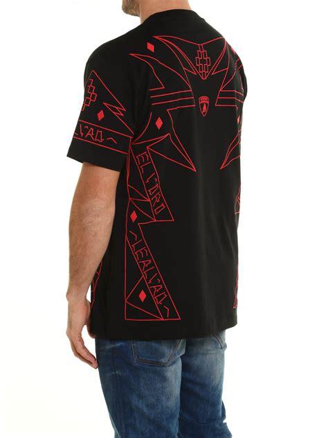 lamborghini clothing lamborghini t shirt by marcelo burlon t shirts ikrix