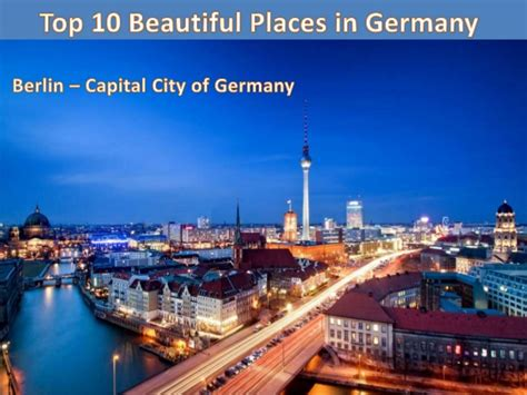Pch Group - pch group balvinder singh presents top 10 places in germany
