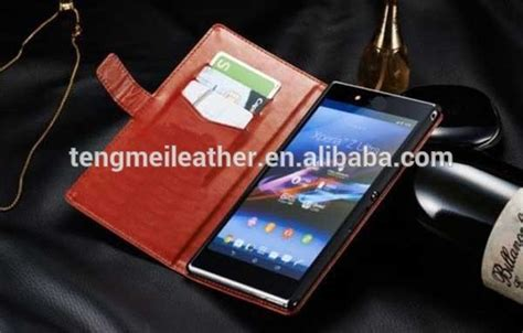 Dompet Hp Sony Xperia M jual leather flip cover wallet sony xperia z ultra dompet kulit di lapak jakey shop