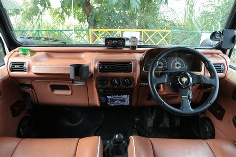 thar jeep interior azad 4x4 launches fiber hardtop solution for mahindra thar