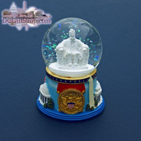 lincoln memorial snow globes pinterest globes snow