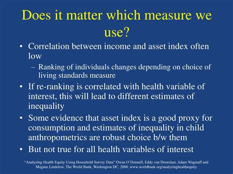 Does It Matter Which I Apply For Mba by Ppt Analyzing Health Equity Using Household Survey Data