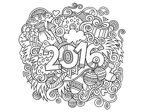 random collage coloring printable coloring pages