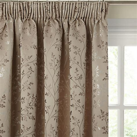 john lewis curtains buy john lewis botanical field lined pencil pleat curtains