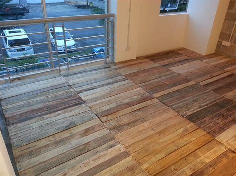 Pallet Floor Diy by Recycled Pallet Flooring Diy Pallets Diy Pallet Flooring