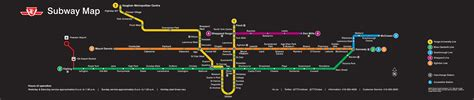 toronto subway map here s what the new ttc map is going to look like now magazine