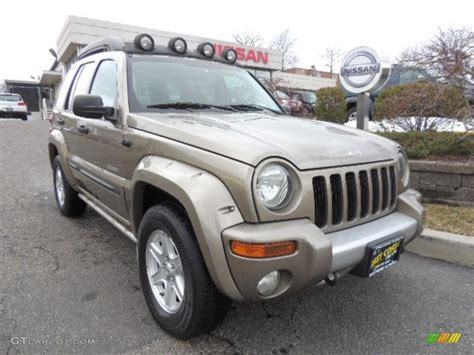 jeep renegade 2004 2004 light khaki metallic jeep liberty renegade 4x4