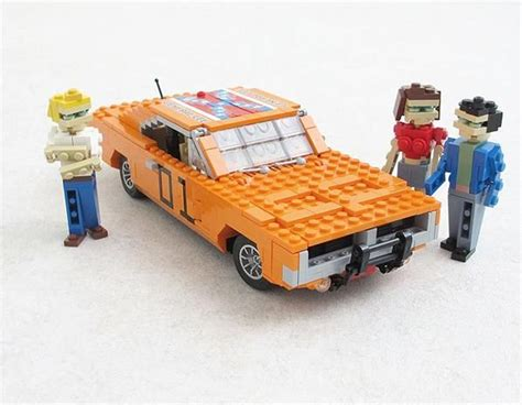 Lego Truck Can Change Car cool cars made out of lego general and duke