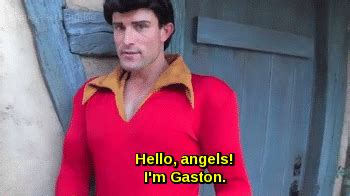 beauty and the beast magic kingdom gaston face characters