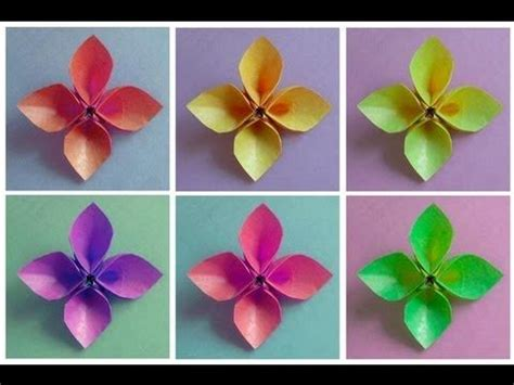 Top 10 Origami - 10 best top 10 origami flower tutorials images on