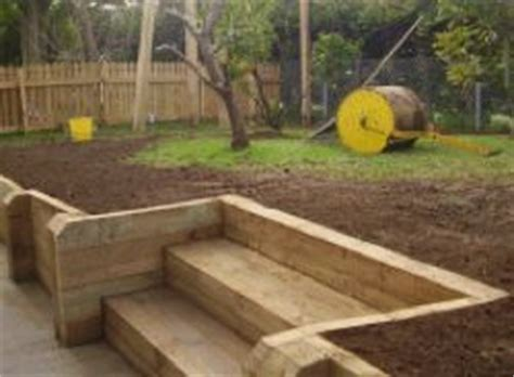 building a retaining wall garden wooden steps for garden garden structures retaining