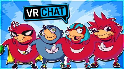scow vs uganda you do not know the way ugandan knuckles tribe vrchat