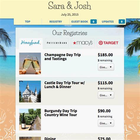 Wedding Registry Honeymoon Fund by News And Press About Honeyfund The Free Honeymoon