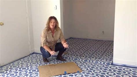 Stencil  Floor Youtube