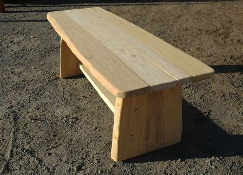 wooden bench with backrest rustic bench without backrest ziegler spielpl 228 tze