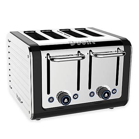 dualit 174 design series toaster in black bed bath beyond