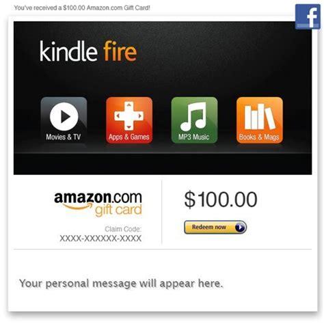 Amazon Kindle Fire Apps Gift Card - amazon gift card facebook amazon kindle fire