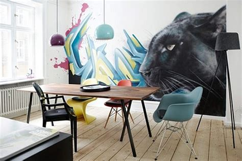 graffiti art home decor office decorating with graffiti wall art decoist