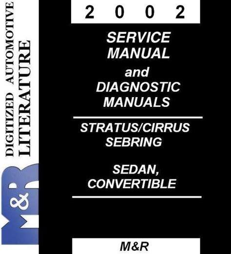 how to download repair manuals 2002 dodge stratus regenerative braking 2002 dodge stratus service manual diagnostic manuals download