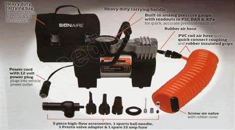bonaire dd16uk 12 volt vehicle air compressor rrp 49 99